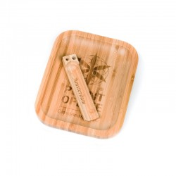 TRAY BAMBOO SMALL LOGO...