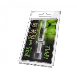 WAX 66% CBD SYRINGE - APPLE...