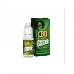 E-LIQUID APPLE CBD 1 % 10ML