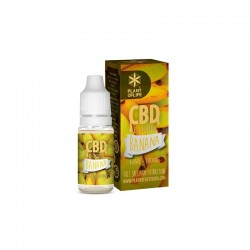 E-LIQUID BANANA CBD 1 % 10ML