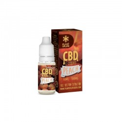 E-LIQUID PEACH CBD 1 % 10ML