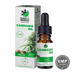 HEMP OIL WITH CBD 6% 10ml