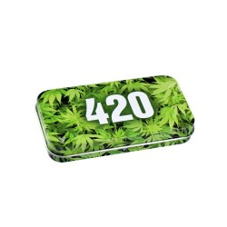 SYNDICATE TIN BOX GREEN 420