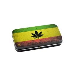 SYNDICATE TIN BOX RASTA LEAF