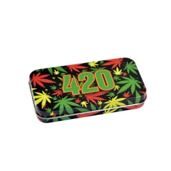 SYNDICATE TIN BOX RASTA 420