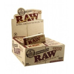 RAW WIDE FILTERS X 50