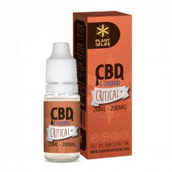 E-LIQUID CBD 1% CRITICAL 20ML