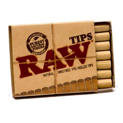 RAW TIPS PREROLLED X 20