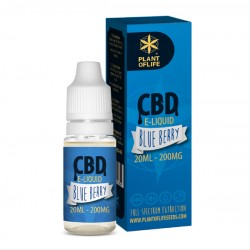 E-LIQUID BLUEBERRY CBD 1% 20ML