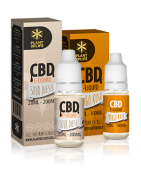 Liquids with CBD for vaping with a multitude of flavors of well-known cannabis strains.